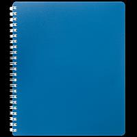 Зошит для записів на пружині CLASSIC, B5, 80 аркушів, клітинка, синій