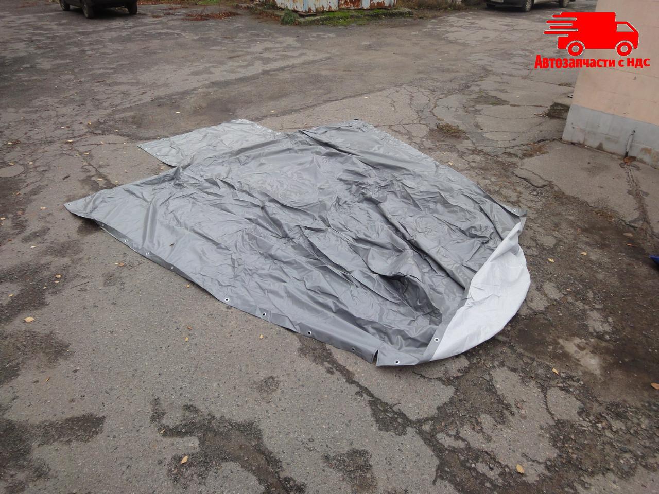 Тент ГАЗЕЛЬ, ГАЗ 3302 (ткань облегченная, цвет серый). 3302-6002020. Ціна з ПДВ.