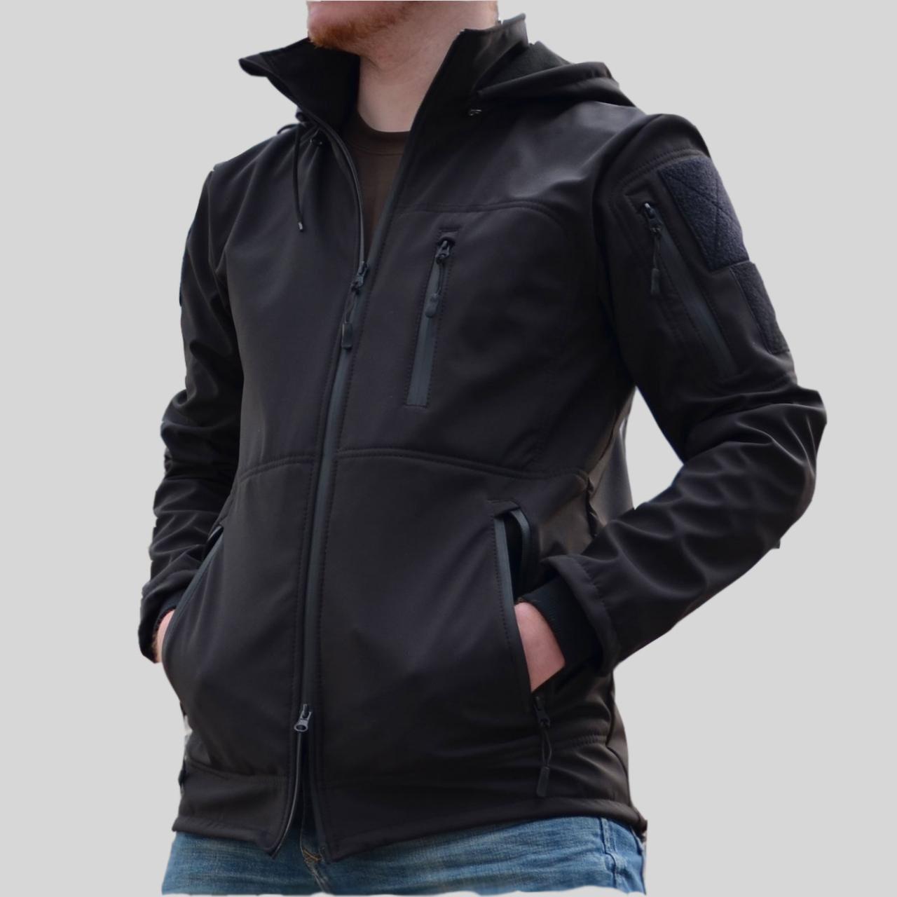 Куртка Softshell GROM Patrol Black 42