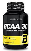 Амінокислоти BioTech - BCAA 3D (90 капсул)