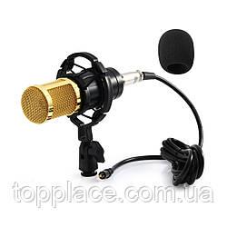 Студийный микрофон Music D.J. M800 со стойкой
