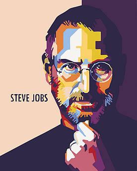 Картина по номерам Стив Джобс (BK-GX23090) 40 х 50 см [Без коробки]