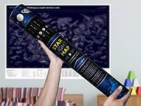 Светящаяся карта звездного неба Космостар А1 (75х55 см)