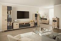 Модульная система для гостинной Рио Мир Мебели