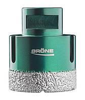 Алмазная коронка вакуумного спекания 68 мм Grone (М14) УШМ
