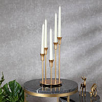 Подсвечник Doreline золотистый на 5 свечей, фото 1