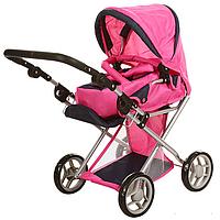 Коляска для кукол Розовая (9346)
