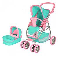 Детская коляска-трансформер для кукол (9662)