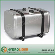 Алюминиевый топливный бак 165л (710х690х430)