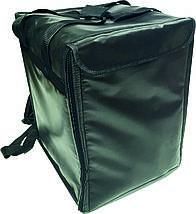 Терморюкзак для доставки пиццы ПВХ черный, фото 3
