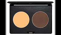 Набор №2 для светло-теневой коррекции лица в коробке для упаковки косметики KODI