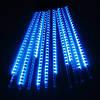 Гирлянда Тающие сосульки, 8шт, 12 led, синяя, прозрачный провод, 20 см., фото 5