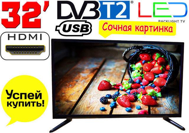 """Телевизор 32"""" Samsung LED! FullHD,T2, USB. Распродажа!"""