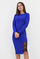 S, M, L / Коктейльне жіноче плаття-футляр Romania, синій
