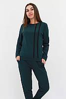 S, M, L / Молодіжний повсякденний костюм Jersy, темно-зелений L (46-48)