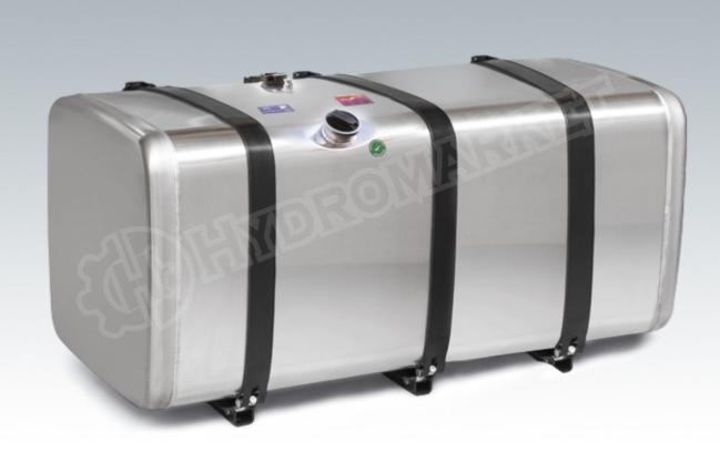 Алюминиевый топливный бак 900л  (690х690х2000)