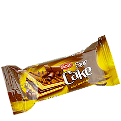 Кекс STAR с какао-кремом  25 гр 1уп/24шт