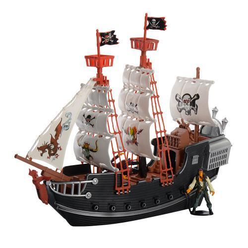 Корабль пиратов M 0516 U/R игровой набор для мальчиков с фигурками и аксессуарами