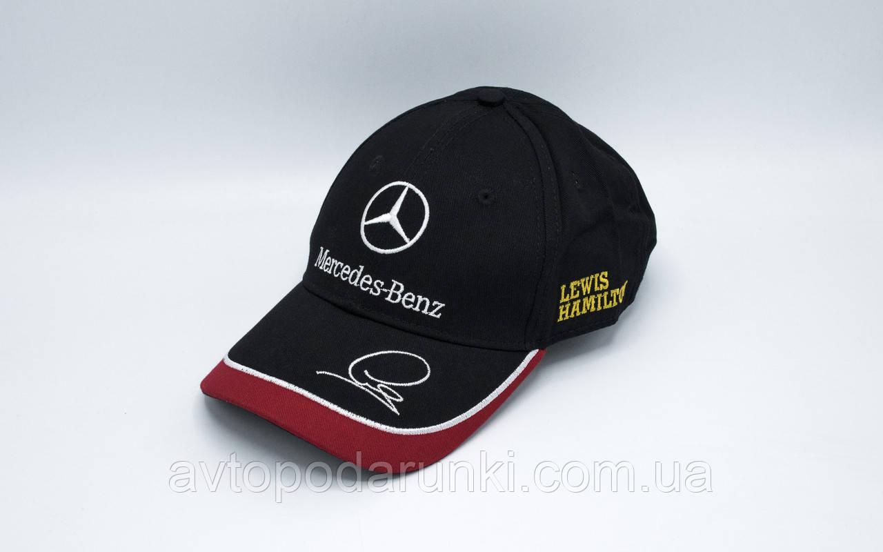 Кепка Mercedes-Benz / F1 Черная-красн