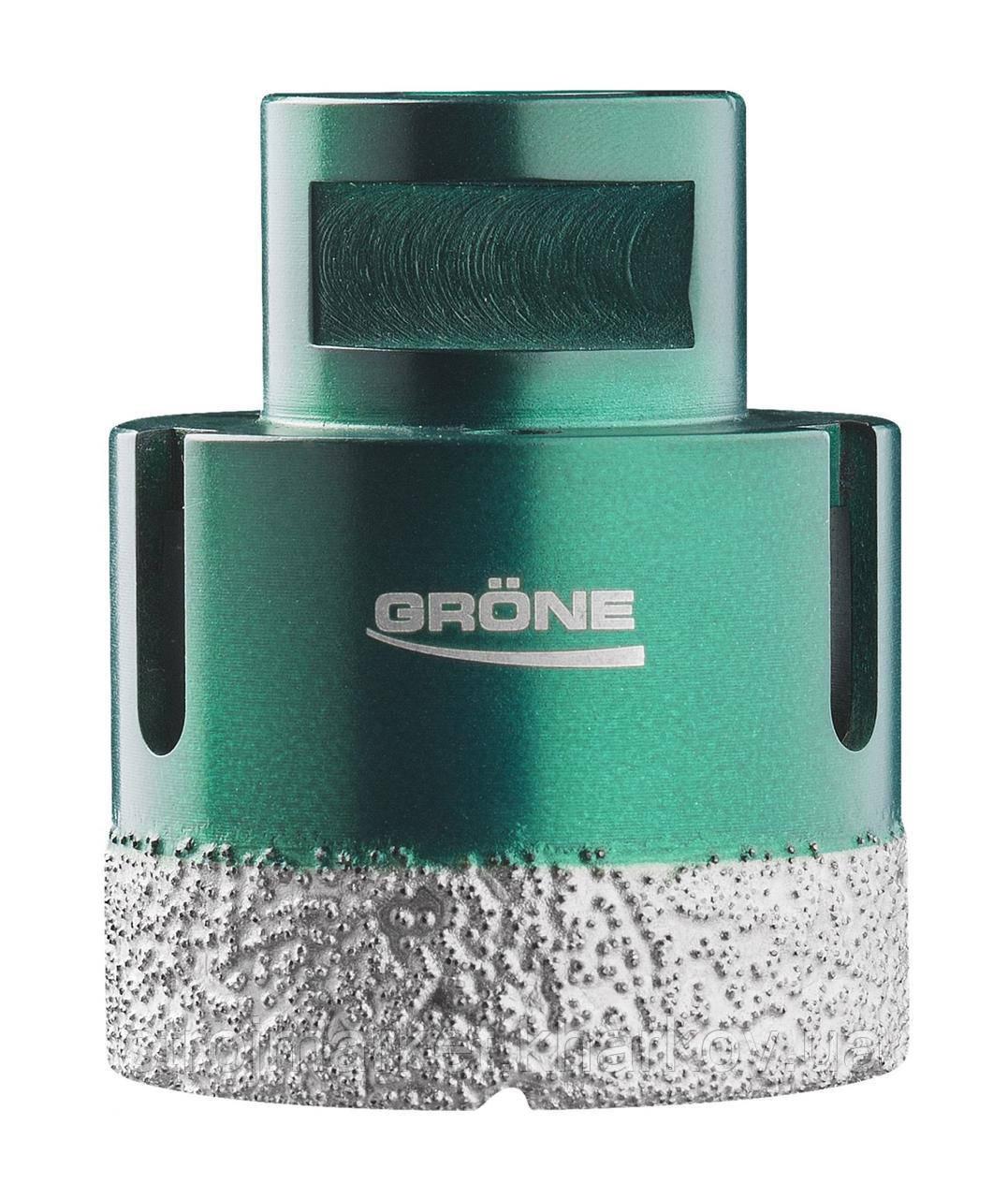 Алмазная коронка вакуумного спекания 12 мм Grone (М14) УШМ