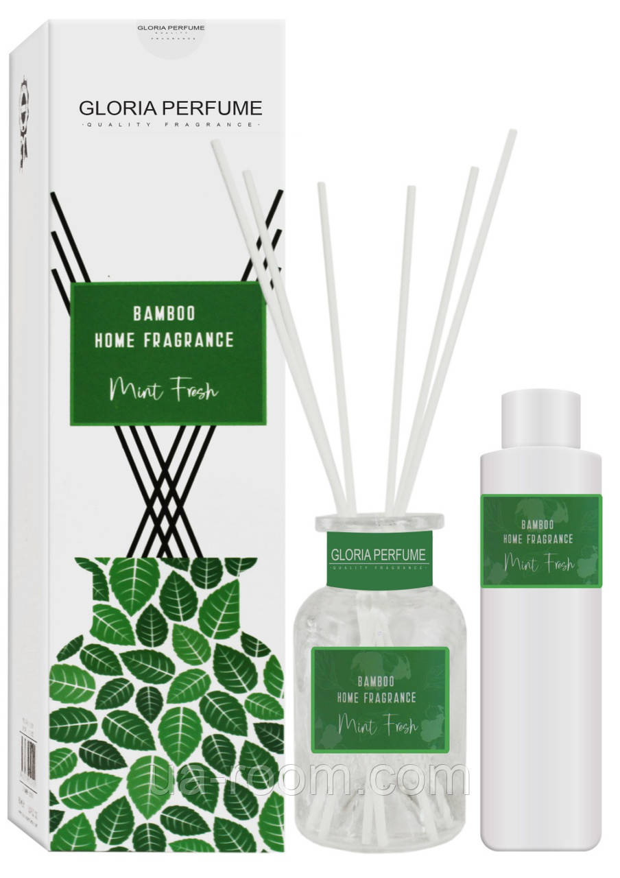 Аромадиффузор Bamboo Home Fragrance Mint Fresh, 150 мл.