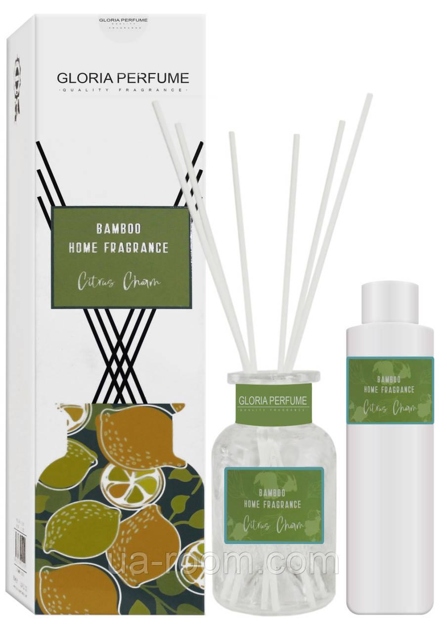 Аромадиффузор Bamboo Home Fragrance Citrus Charm, 150 мл.