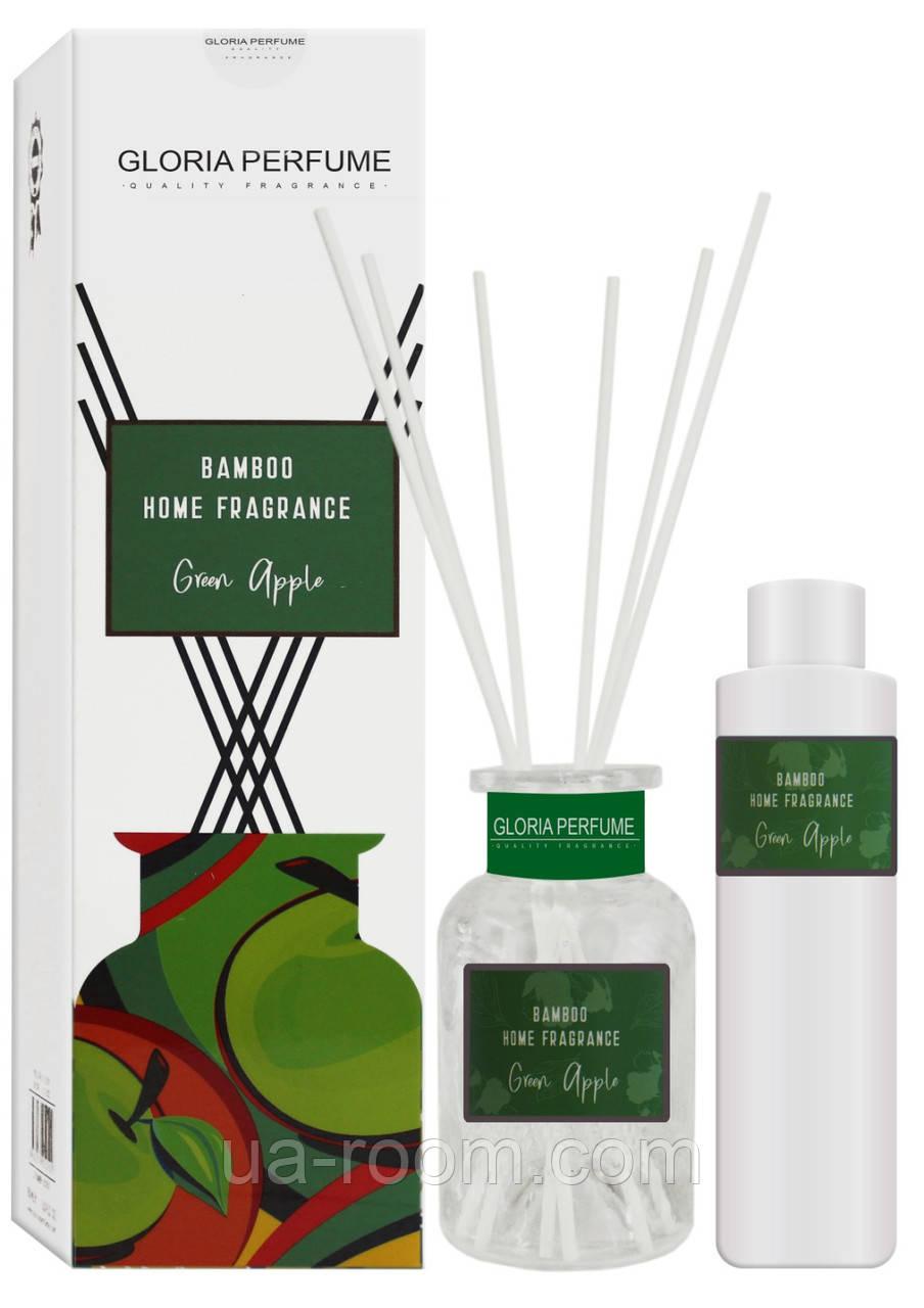 Аромадиффузор Bamboo Home Fragrance Green Apple, 150 мл.