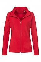 Спортивна флісова жіноча куртка на блискавці