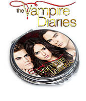 Карманное зеркало Елена Стефан И Дэймон Дневники вампира / The Vampire Diaries