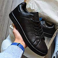 Кроссовки мужские Adidas Stan Smith D8798 Black, фото 1