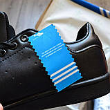 Кроссовки мужские Adidas Stan Smith D8798 Black, фото 7