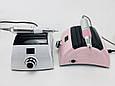 Профессиональный фрезер для маникюра и педикюра ZS-710 на 65 Вт - 50000 об./мин. (с ручкой и педалью), фото 2
