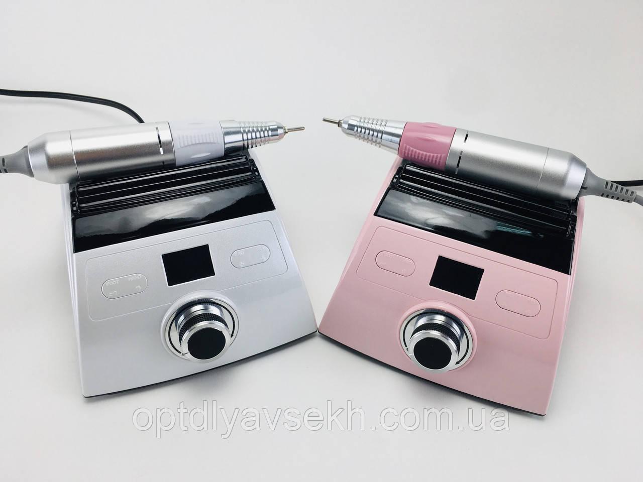 Профессиональный фрезер для маникюра и педикюра ZS-710 на 65 Вт - 50000 об./мин. (с ручкой и педалью)