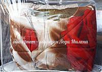 Теплое зимнее одеяло овчина евро размер от производителя, фото 1