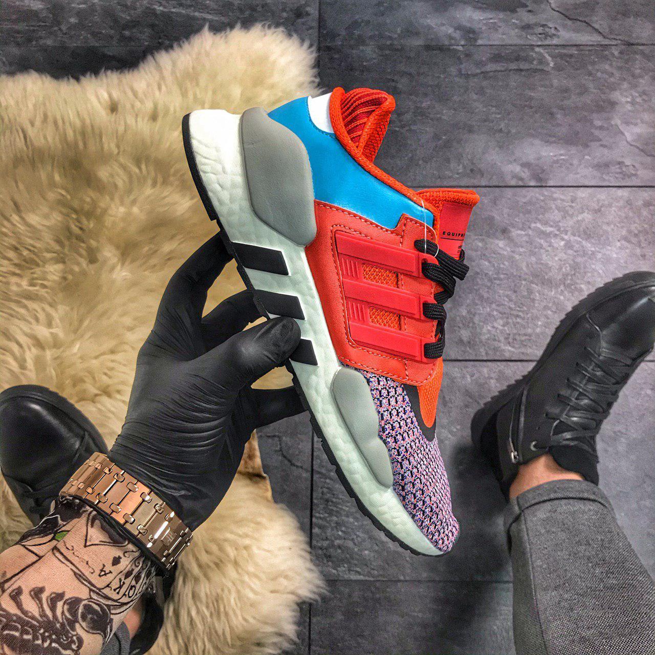Adidas EQT 91/18 Red Violet Blue