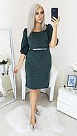 Теплое женское платье,ткань теплый трикотаж,размеры:48,50,52,54.