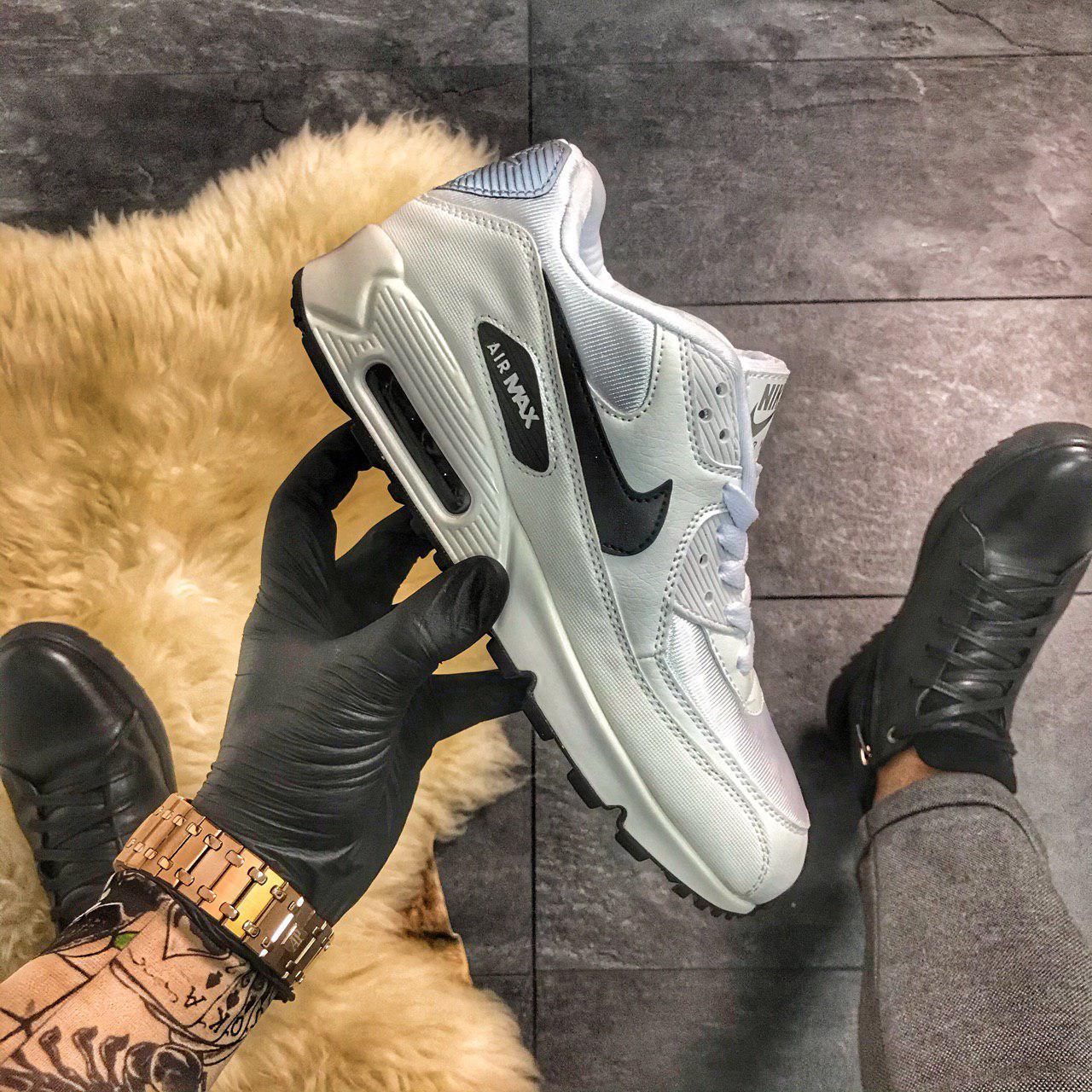 Nike Air Max 90 White Lite Silver