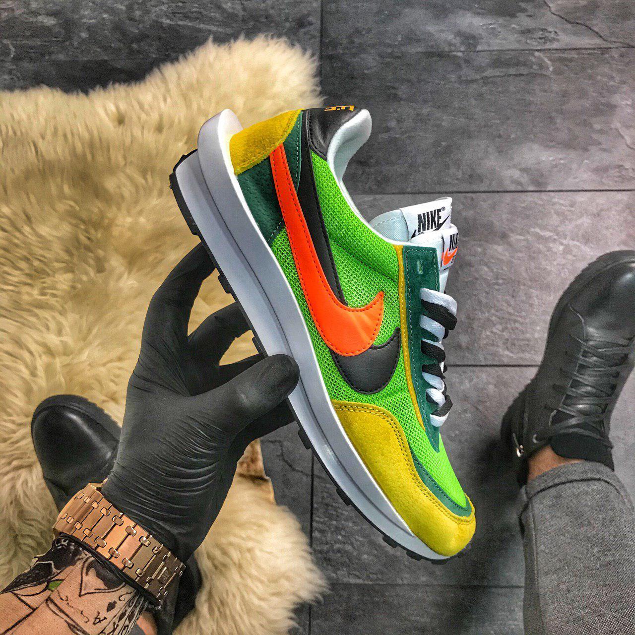Nike LD Waffle Sacai Green