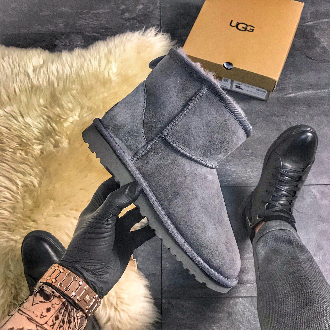 UGG Classic 2 Mini Gray