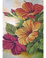 Схема для вышивки бисером Цветы