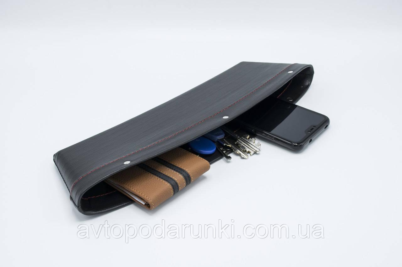 "Автомобильный карман-органайзер ""Type-2 Black"" MITSUBISHI"