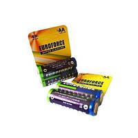 Батарейка EUROFORCE AA (LR6) BLI 2 Alkaline (20/360) (2шт/упак)