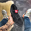 """Мужские зимние кроссовки в стиле Vans SK 8 """"Black"""" Fur, фото 2"""