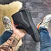 """Мужские зимние кроссовки в стиле Vans SK 8 """"Black"""" Fur, фото 3"""