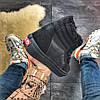 """Мужские зимние кроссовки в стиле Vans SK 8 """"Black"""" Fur, фото 6"""