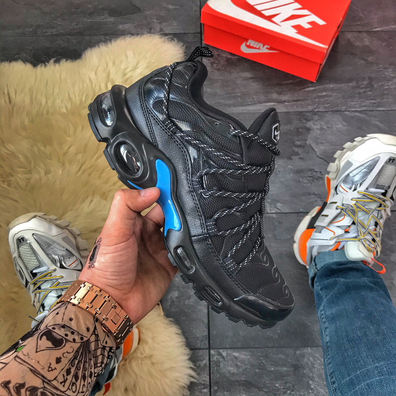 Nike Air Max TN Black Blue