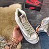 "Мужские кроссовки в стиле Nike Blazer Mid ""Grey"", фото 2"