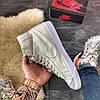 "Мужские кроссовки в стиле Nike Blazer Mid ""Grey"", фото 3"