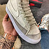 "Мужские кроссовки в стиле Nike Blazer Mid ""Grey"", фото 5"