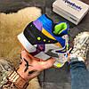 """Мужские кроссовки в стиле Reebok Classic Leather """"Blue/Grey"""", фото 6"""